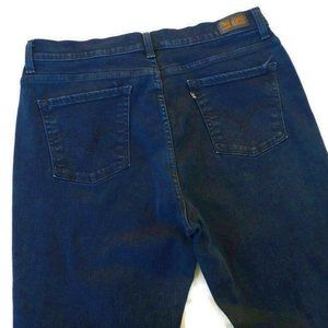Levis Perfectly Slimming 512 Skinny Dark High Rise